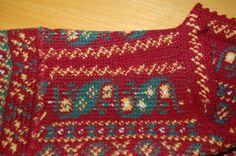 Tapestry Crochet, Crochet Clothes, Crochet Stitches, Knit Crochet, Knitting, Finland, Inspiration, Sweater, Detail