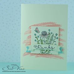 Sue Vine | Stampin' Up! | MissPinksCraftSpot | 2016 Occasions Catalogue | Number of Years | 2016 Sale-a-Bration Catalogue | Flowering Fields | Handmade Card #stampinup #floweringfields #numberofyears