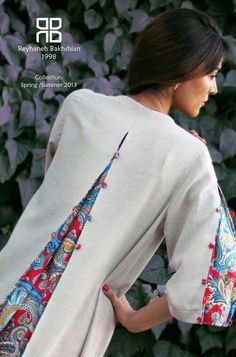 Crochet, animaux, travaux manuels, couture et recyclage Too small, here is the solution. Sewing Clothes, Diy Clothes, Clothes For Women, Designer Kurtis, Designer Dresses, Kurta Designs, Blouse Designs, Hijab Fashion, Fashion Dresses