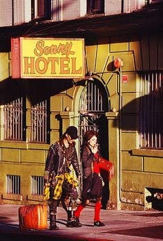 Sonny Hotel In The Tenderloin,  San Francisco By Mitchell Funk   www.mitchellfunk.com
