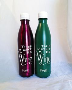 This might be Wine S'well Bottles  Girlfriends by PaperandPi