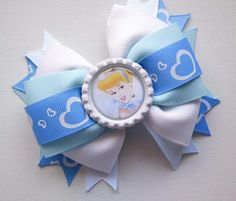 Disneys Cinderella Boutique Hair Bow. $5.95, via Etsy.