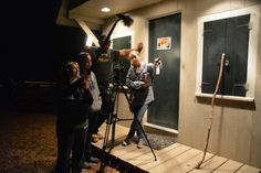 Setting up a shot for the #film, The Long Awake. #behindthescenes #filmmaking #boston #filmmakers #indiefilm #movieset