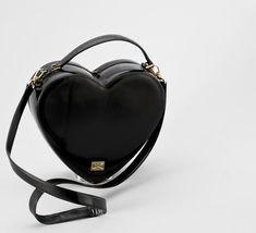 Moschino bag #black #heart