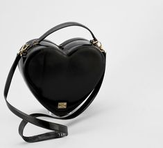 Moschino bag - black heart