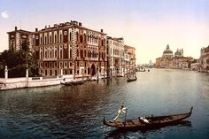The Grand Canal, view I, Venice, Italy