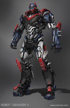 Robot Taekwon V version 01 3/4