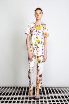 Lela Rose | Resort 2014 Collection | Style.com
