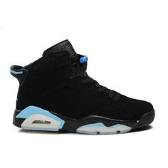 Air Jordans 6(VI) Black Sky Blue i want these its time for me n the babes to get a new matching pair ^.^ sucks all the other brand sneakers i lik aint on here (sneaker head & heels) ;)