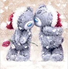 weihnachten Tatty Teddy How Do We Know What Time It Really Is? Tatty Teddy, Christmas Drawing, Christmas Art, Vintage Christmas, Teddy Bear Pictures, Illustration Noel, Bear Graphic, Christmas Teddy Bear, Blue Nose Friends
