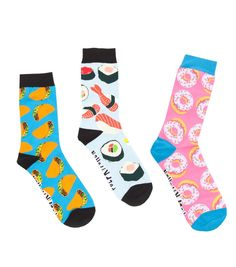 Dangerfield - Snacktime Bundle - love the sushi socks !!! Omg