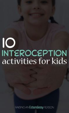 list of interoception activities for kids that can be used to help build body awareness and teach kids how to draw their attention to the things happening inside their bodies. health activities health care health ideas health tips healthy meals Health Activities, Sensory Activities, Infant Activities, Activities For Kids, Sensory Diet, Sensory Issues, Autism Activities, Sensory Play, Preschool Ideas