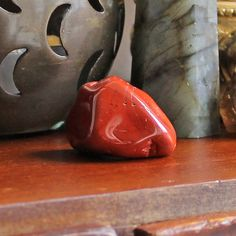 Red Jasper Tumble Stone for grounding and protection Grounding Crystals, Meditation Crystals, Crystal Healing Stones, Chakra Crystals, Crystals And Gemstones, Sensitive People, Highly Sensitive, Crystals For Sleep, Grounding Meditation