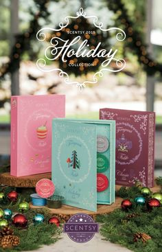 Scentsy 2015 Holiday Collection :) #preview #comingsoon #justawickaway