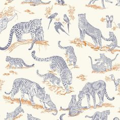 TENDRESSE FELINE Hermès Home, Fabrics & Wallpapers, Collection 2016/17