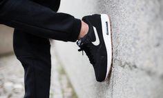 Nike Air max 1 Black-Light Bone Gum - 537383-026