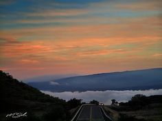 A road above the clouds. This destination is by far one of my favorite places on earth. The air is cleaner and the surrounding world seems so small from up here. Haleakala is known for their amazing sunrises but a sunset and some star-gazing is breathtaking too.