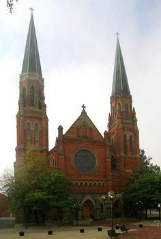 Ste. Anne Roman Catholic Church Complex – Howard and Ste. Anne Streets: It's the second oldest continuously operating Roman Catholic parish in the United States and it was built in 1886. The remains of Father del Halle, who was shot and killed by an Indian while returning to Fort Pontchartrain, remain buried under the alter, which has moved four times throughout several construction periods.