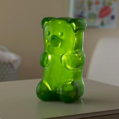 Kids' Lighting: Colorful Gummy Bear Nightlight in Nightlights | The Land of Nod