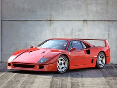 Ferrari F40 - I really love this car and as a child I collected everything I could found of a F40!
