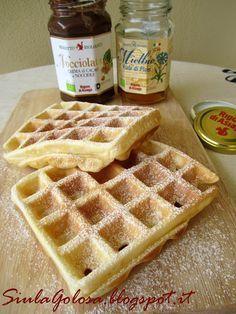 La colazione golosa: Waffle!!