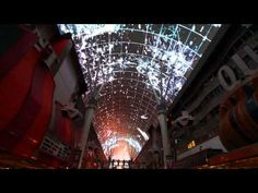 """Shots"" by Imagine Dragons at Fremont Street Experience Las Vegas"