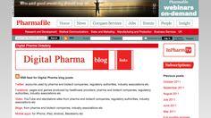 Digital Pharma blog  http://www.pharmafile.com/digital-pharma-blog/links