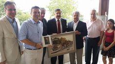ORGE Elektrik CEO'su ve HATİAB Başkan Yardımcısı Nevhan Gündüz, Hatay'lı Kültür ve Turizm Bakan Yardımcısı Sayın Hüseyin Yayman'la bir araya geldi.