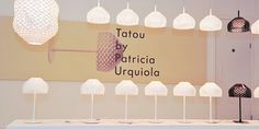 Tatou the new family of Flos by Patricia Urquiola.