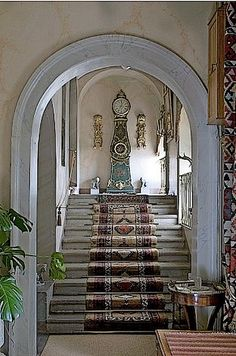 Google+ Grand Staircase, Stairs, Stone Work, Entrance Hall, Foyer, Google, Beautiful, Stairway, Entryway