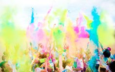 Color Me Rad - Get plastered with paint at this fun run 5K