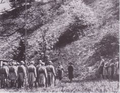 Mata Hari at her execution