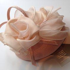 Whiteley swirl pillbox with silk organza flowers #hat #hats #chapeau #headpiece #pillbox #fascinator #cocktailhat #ascot #ascotspecial #feather #flower #harpenden #wedding #parisisal #whiteley #katemiddleton #stalbans #headpiece www.lovelupin.co.uk
