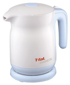 T-fal electric kettle 0.8L KO320172 Antoinette Sky Blue [One Push] adopt safety lid  #T-fal #Kitchen