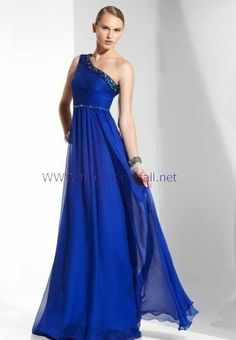 Color is great, and length, and amount of flowiness!  (BCBG MaxAzria Chiffon Gown)