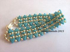 TUTORIAL Colibri bracelet by MarinaBeads06 on Etsy