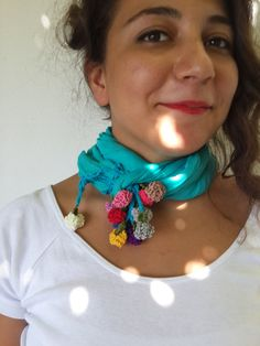 Cloves,Summer Scarves,Blue Scarf Lace,Womens Scarves, Gift İdeas,Fashion Scarves, Cotton Scarf ,Womens Spring Scarf,