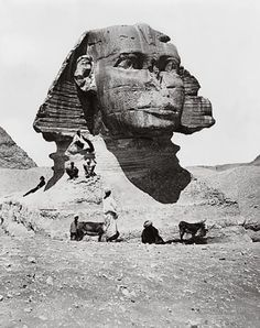 These rare photos reveal what the present is hiding from us: mysterious entrances into the world's largest and oldest statue, the Great Sphi...