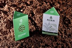Organic product of aromatic plantsLogo and packaging for organic aromatic plants.We designed the logo inspired by the location of the fields (Aura, Farsala) and the surrounding beauty. The abstractional synthesis is based on geometrical shapes, full of …