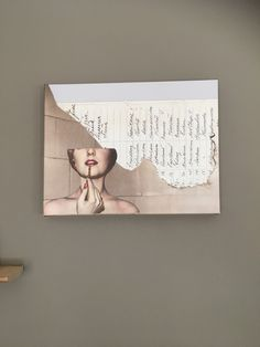 Collage art by Danish designer Gitte Lacarriere. www.mangt.dk for webshop, also find us on Instagram just search for MANGT.dk