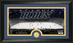 AAA Sports Memorabilia LLC - St. Louis Blues Bronze Coin Panoramic Photo Mint, $59.99 (http://www.aaasportsmemorabilia.com/nhl/st-louis-blues-bronze-coin-panoramic-photo-mint/)