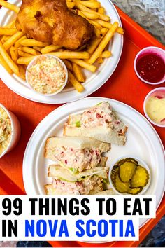 The ultimate list of Nova Scotia food. Eat like a local with plenty of seafood and other delicious Nova Scotia foods, which may surprise you. Canadian Cuisine, Canadian Food, Canadian Recipes, Canadian Dishes, Alberta Canada, Ottawa, Quebec, Donair Sauce, Vancouver
