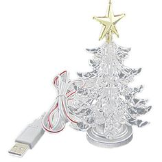 christmas tree shaped led light usb lamp