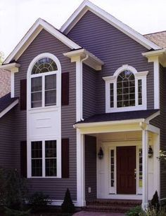 1000 images about house paint ideas on pinterest white trim red doors and painted shed - Purple exterior paint image ...