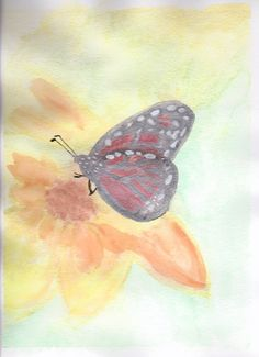 Butterfly -  Autism Art By Mitchell