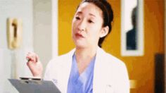 This is her plotting to take over the world.   27 Reasons Why Cristina Yang Is Everything You Aspire To In Life