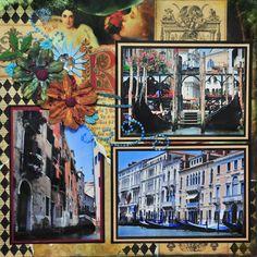Venezia (Venice) Italy - LEFT SIDE - Scrapbook.com