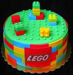 Lego cake by maryann
