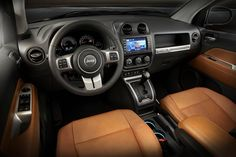 Restyled Jeep Compass will arrive in Geneva 2017 Jeep Compass, Jeep Compass Limited, 7 Seater Suv, Jeep Wrangler Interior, Fuel Efficient Cars, Jeep Grand Cherokee Limited, Chevrolet Trax, Jeep Patriot, Home