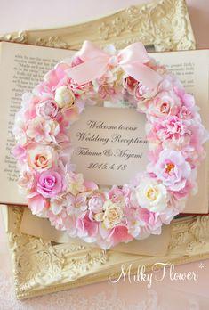花嫁さまからお写真が届きました♪ |ウェディング&フラワーリースのMilkyFlower*